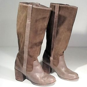 Dolce Vita Brown Suede Boots Size 9